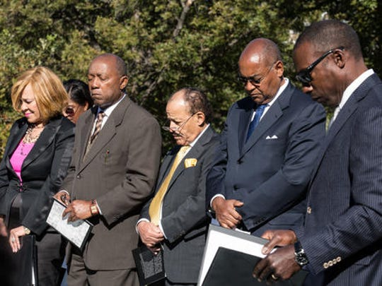 Members of the Texas Legislative Black Caucus, and
