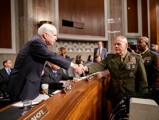 John McCain, Robert B. Neller, Ronald L. Green