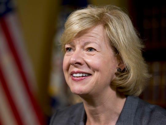 U.S. Sen. Tammy Baldwin of Wisconsin.