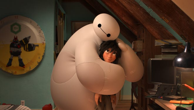 "Robot Baymax held the emotional and action-packed ""Big Hero 6"" together, said Roy Conli."