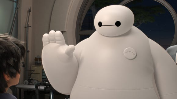 Baymax is an inflatable robot in the Disney movie Big