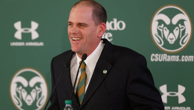 Mike Bobo had spent nearly his entire life in Georgia before taking the head coaching job at Colorado State.