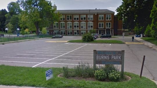 Burns Park Elementary in Ann Arbor.