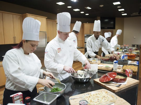 File: Campbell's Culinary & Baking Institute chefs