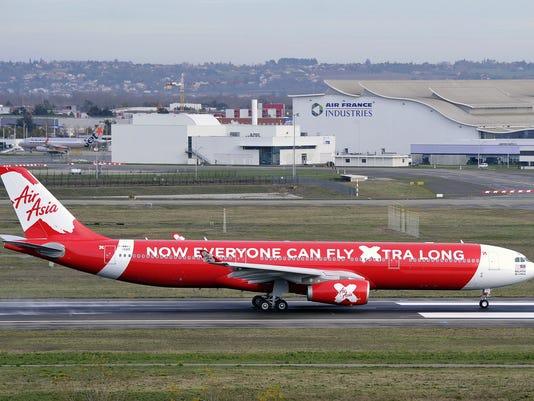 Air Asia plane missing