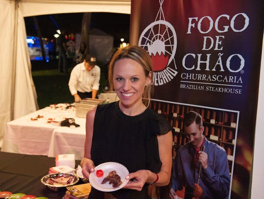 Fogo de Chão features some delicious sirloin during