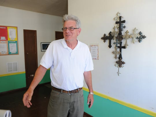 Reverend Jim Luther, whose humour and compassion will