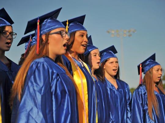 The Vocal Ensemble of Seniors of Millville Senior High