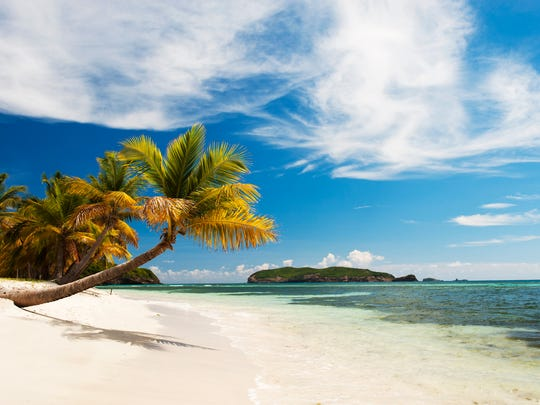 Mustique has some of the prettiest beaches in the Caribbean