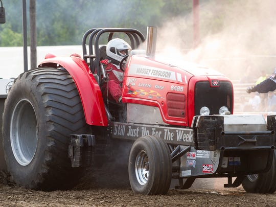 The Prison City Pull-Off tractor pulls took place Saturday night in Waupun, at Celebrate Waupun. Saturday July 4, 2015.