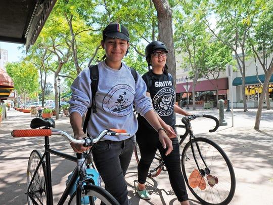 Angela Herrera and Jade Stephens, both 24, will be