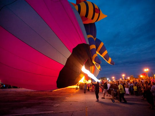 Lakeshore Balloon Glow features food, children's activities and live entertainment.