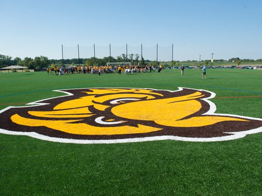 Rowan University opens its newest practice fields on its west campus. Wednesday, August 26, 2015