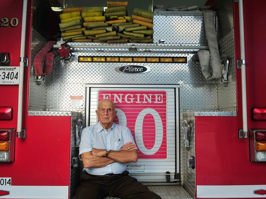Martin Coleman was a captain on the 19th Fire Engine that fought the blaze at the fairgrounds in September 1965.