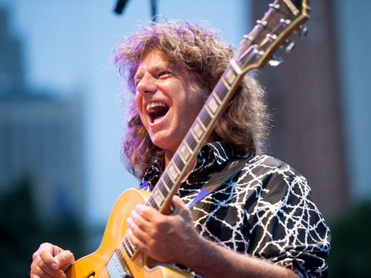 Artist-in-residence Pat Metheny performs at  the finale