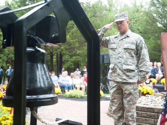 Patriot Day memorial ceremony at Chestnut Branch Park's