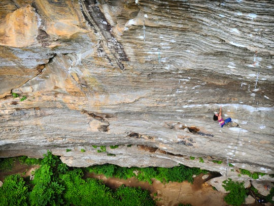 Kentucky - Kentucky's Red River Gorge is known world-wide as the top destination for sport climbing in the country, with some of the world's most famous routes.