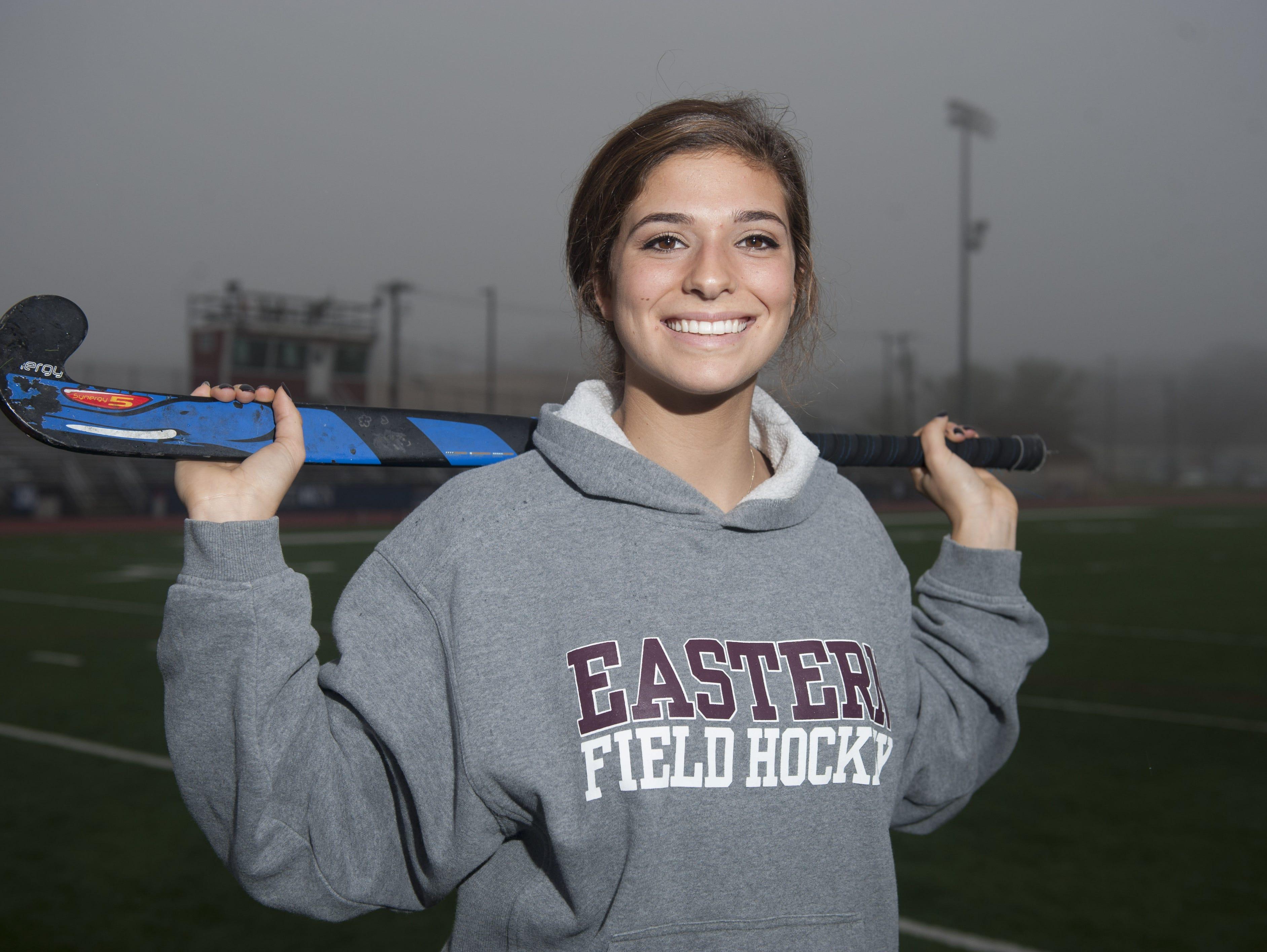 Field Hockey Player of the Year - Eastern'sr Madison Morano. Wednesday, December 2, 2015.