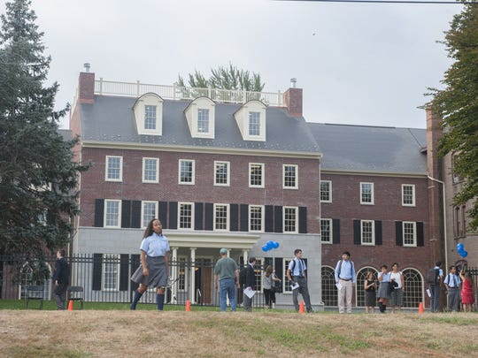 Historic Doane Academy in Burlington City celebrated the opening of Rowan Hall at the 178-year-old Episcopal school for preschool to 12th grade in 2015. The renovation was made possible through monetary gifts of Lee and Henry Rowan and the Rowan Family Foundation.