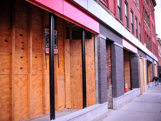 191 College St. in Burlington, where former Venue owner Mike Couture plans to open a nightclub. The club would be in the back part of the building.