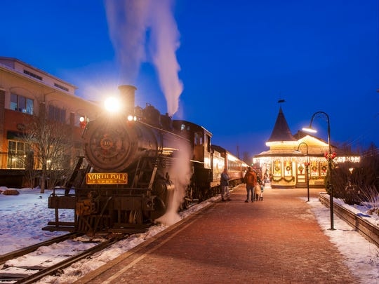Who needs the Polar Express when you can hop aboard the New Hope Ivyland Railroad?