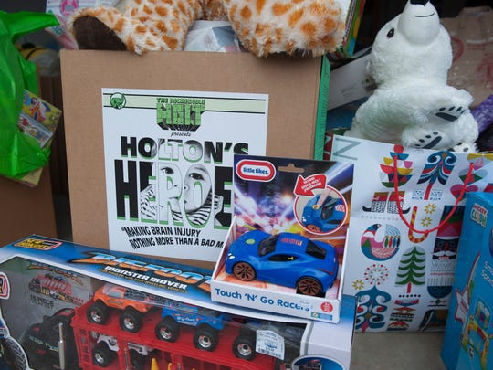 Lauren Levin of Marlton collected over 1,000 toys in