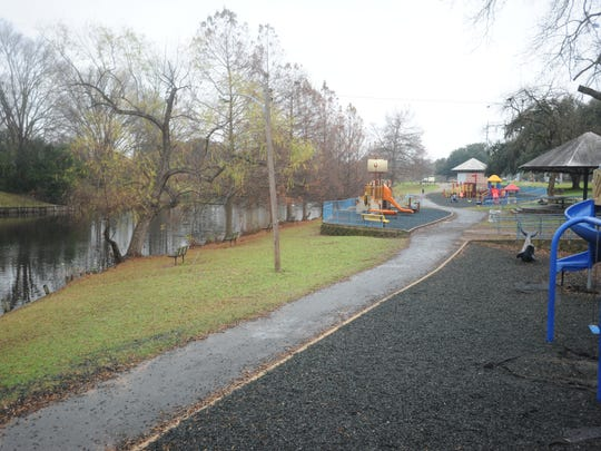 The Duck Pond, located off E. King Highway, is a popular destination for families living in District 5's neighborhoods.