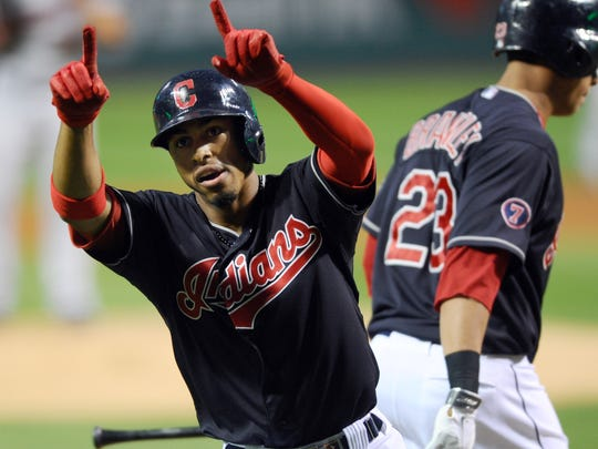 Budding star Francisco Lindor is already on his way to becoming as popular with Tribe fans as former shortstop Omar Vizquel.