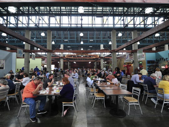 The Nashville Farmers' Market Night Market is 5-9 p.m. Friday.