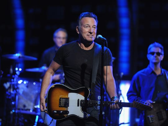 """Bruce Springsteen with the E Street Band on """"The Daily"""