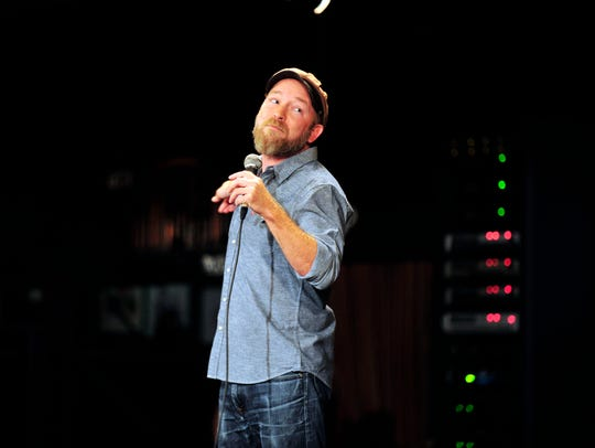 Kyle Kinane will perform four shows this weekend at