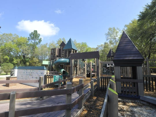Benny Russell Park in Pace is pictured in this file photo.
