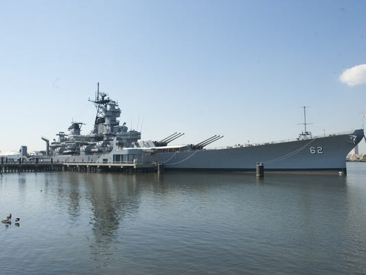 POPE USS NEW JERSEY