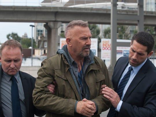 Kevin Costner looks rough in 'Criminal.'
