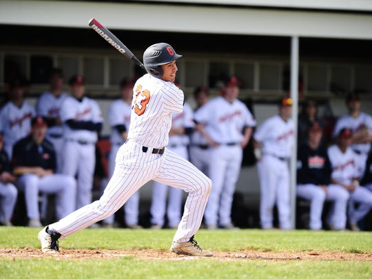 Twice in a 10-day span, Gettysburg College's Logan Sneed recorded five-hit games.
