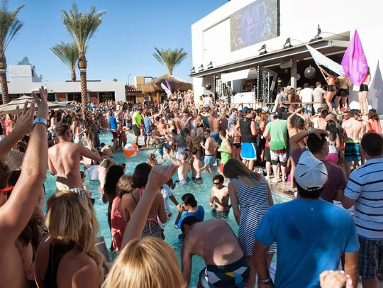 Maya Day and Nightclub hosts big pool parties during