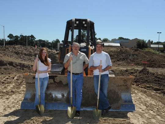 The Vevericas break ground on their current location.