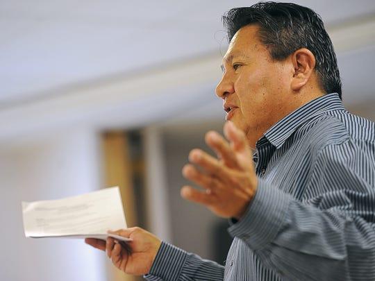 William Bear Shield, a Rosebud Sioux Tribal Council