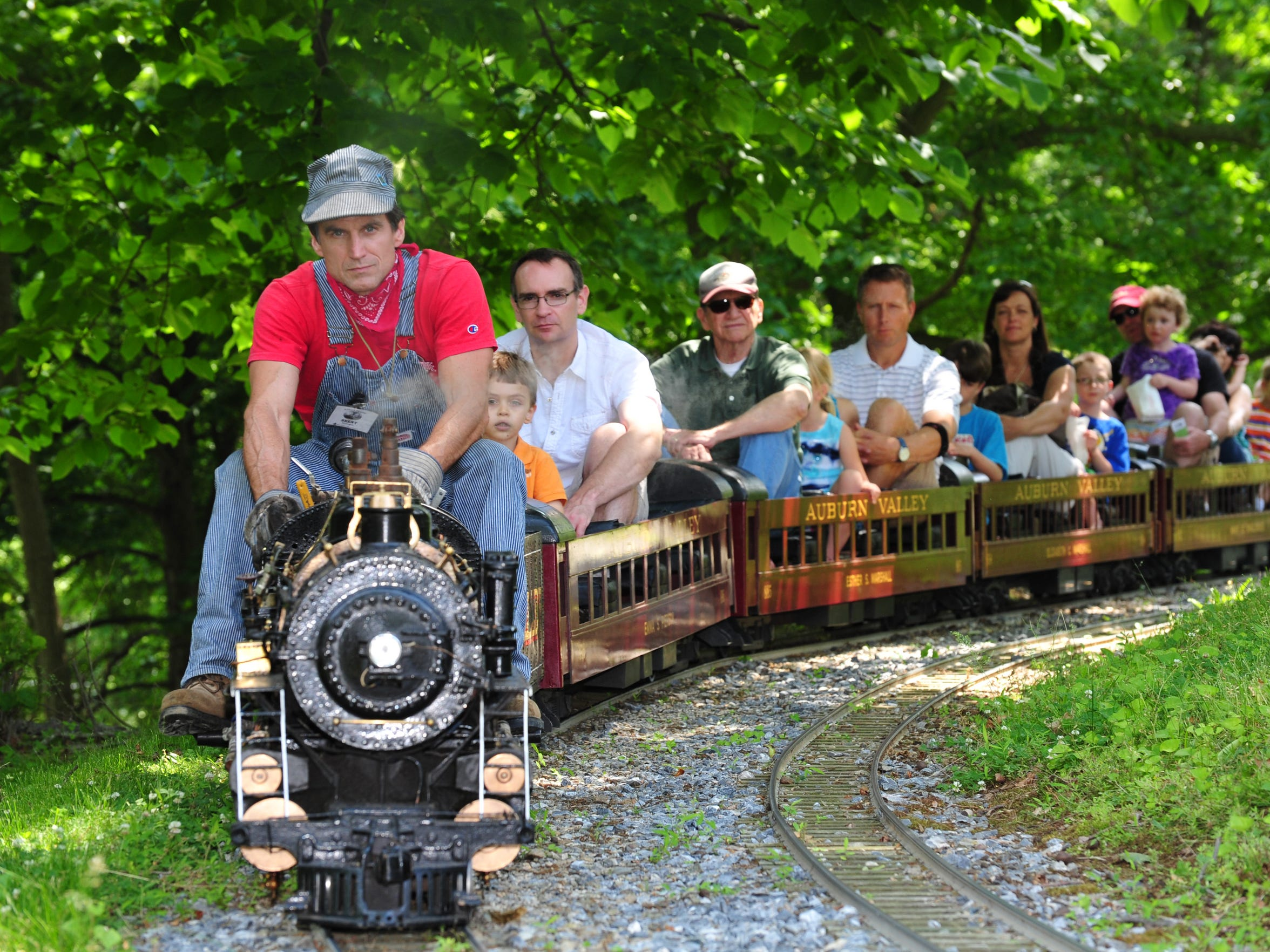 Train Day at Auburn Heights runs from 12:30 to 4:30 p.m. Sunday.