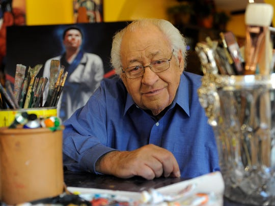 Ferdie Pacheco at his Miami home in 2009.
