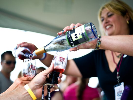 Wine not grab a few pals and trek out to Lake Harmony for the Great Tastes of Pennsylvania Wine & Food Festival?