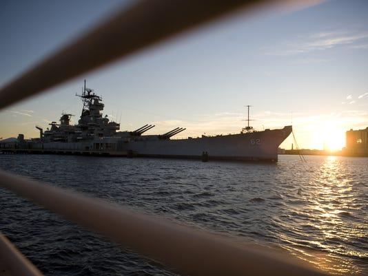 Battleship New Jersey Musuem and Memorial on Camden Waterfront