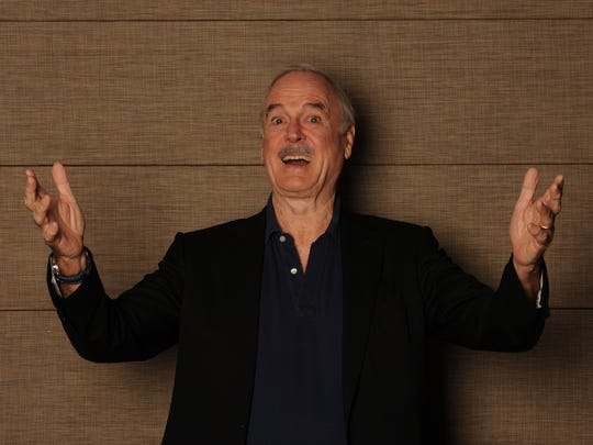 Legendary comedians John Cleese and Eric Idle will