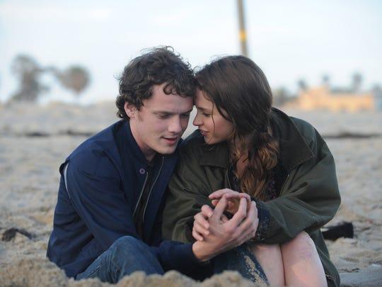 Yelchin played the boyfriend to Felicity Jones' Anna