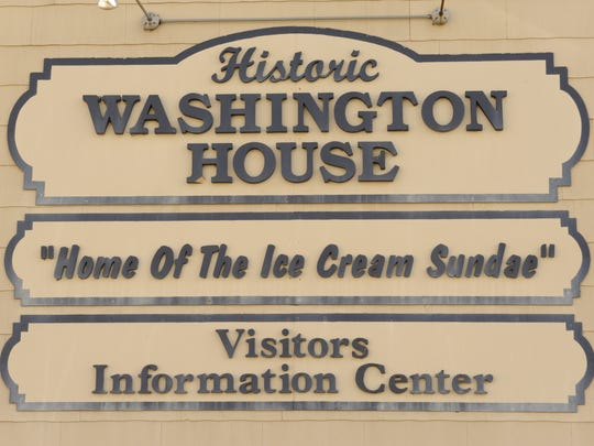 Two Rivers' Washington House is the official home of the ice cream sundae.