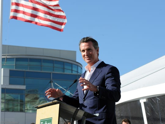 Featured speaker Gavin Newsom, lieutenant governor