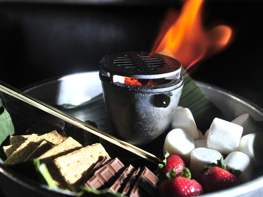 Build-your-own s'mores at Tavern.