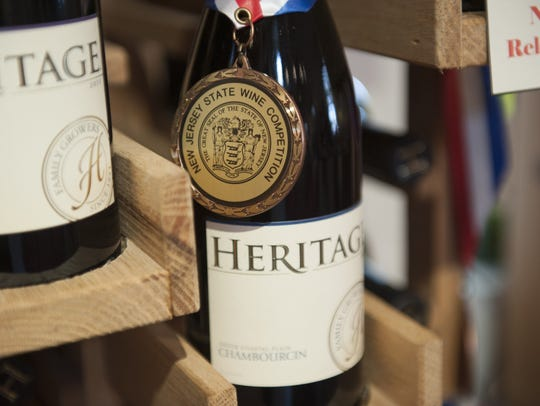 Heritage Winery hosts a festival with seven other wineries