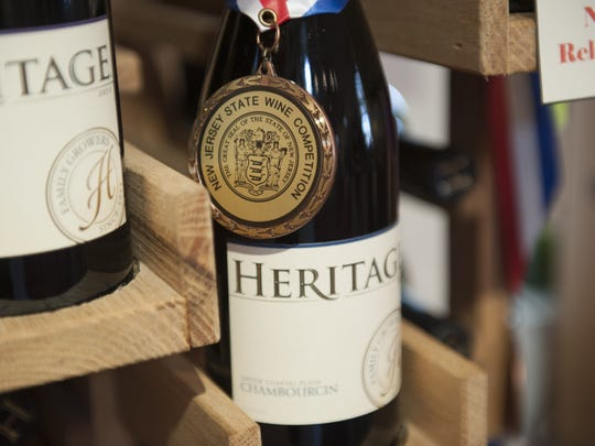 Heritage Winery hosts a festival with seven other wineries in September.