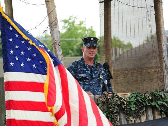 Bova VFW Post, Senior Vice Commander, George Keebler